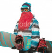 Beardski lyžiarska maska Zeke