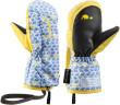 Leki Little Elephant Zap Mitt - modrá / žltá - :