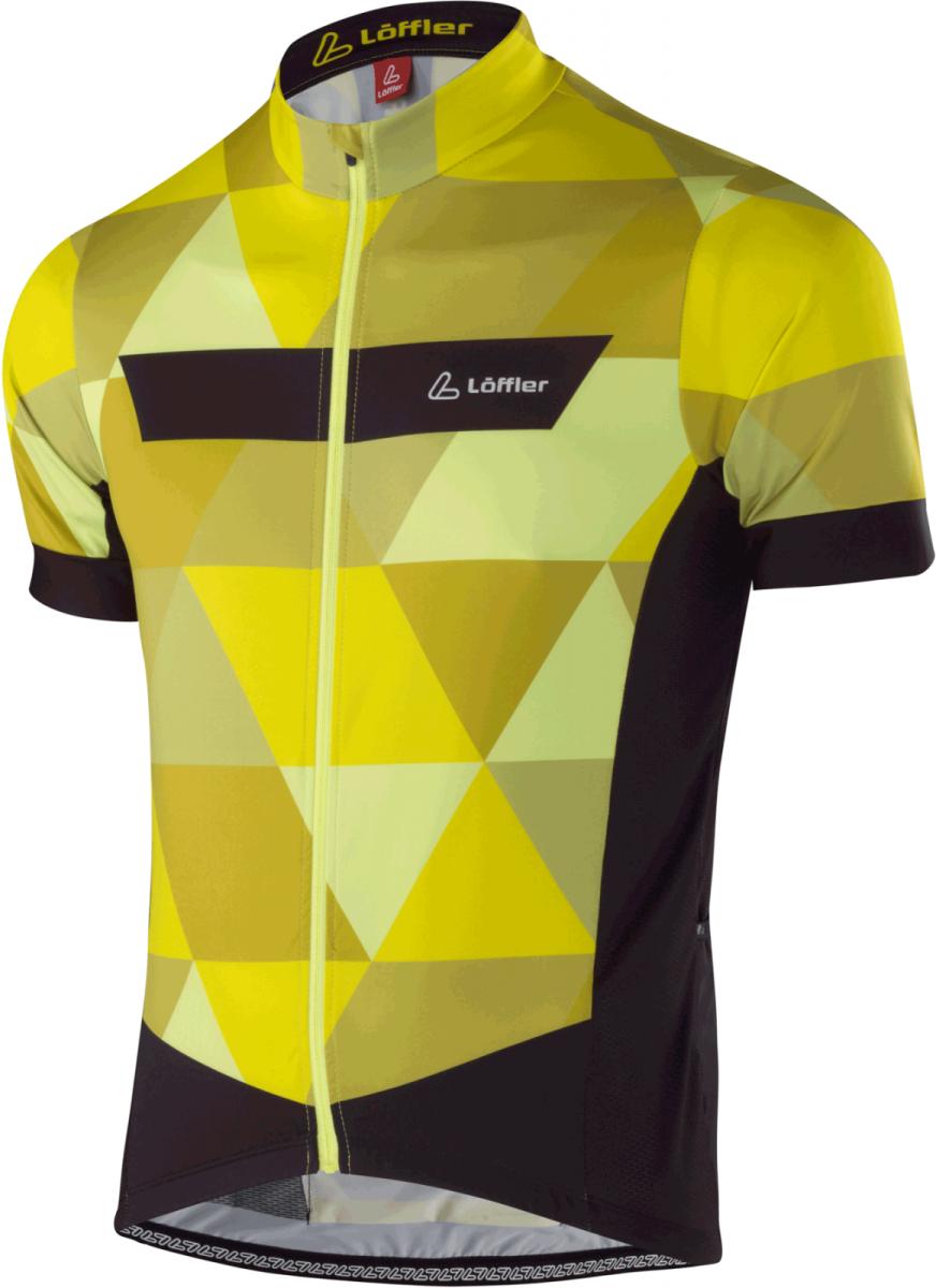 Löffler Dres Metric FZ - žltá Veľkosť oblečenia: L.