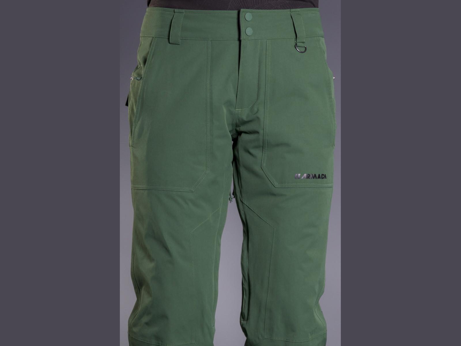 Armada Lenox Insulated Pant - forest green Veľkosť oblečenia: S.