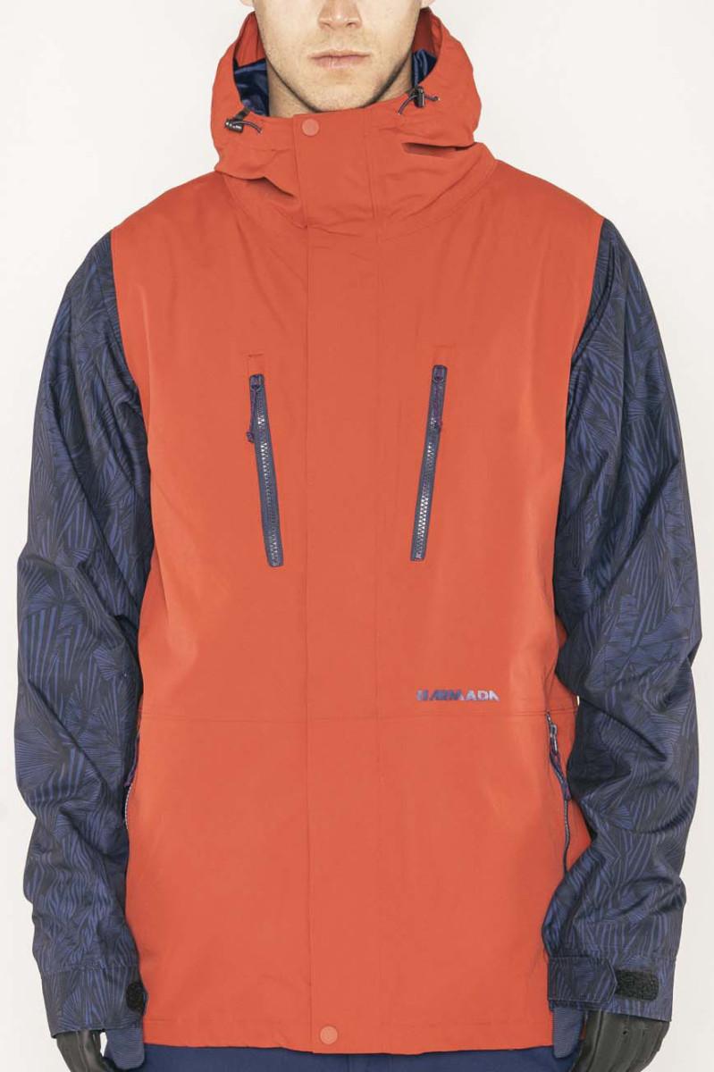 Armada Aspect Jacket - red chili Veľkosť oblečenia: XL.
