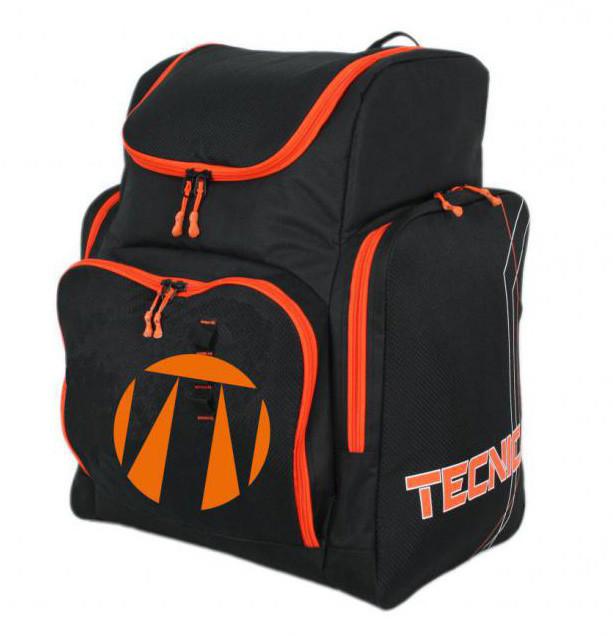 Tecnica Family / Team Skiboot Backpack - čierna / oranžová