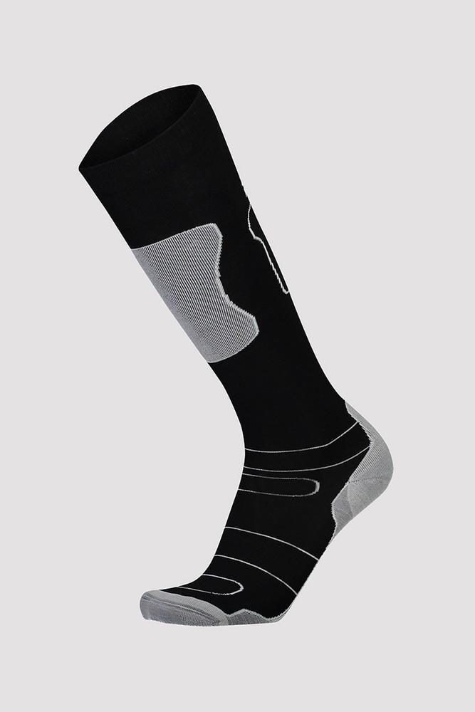 Mons Royale  Pre Lite Tech Sock - čierna / sivá