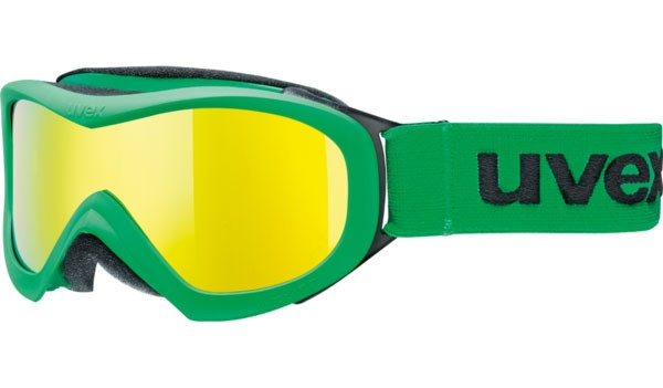 Uvex Wizzard DL Mirror - zelená