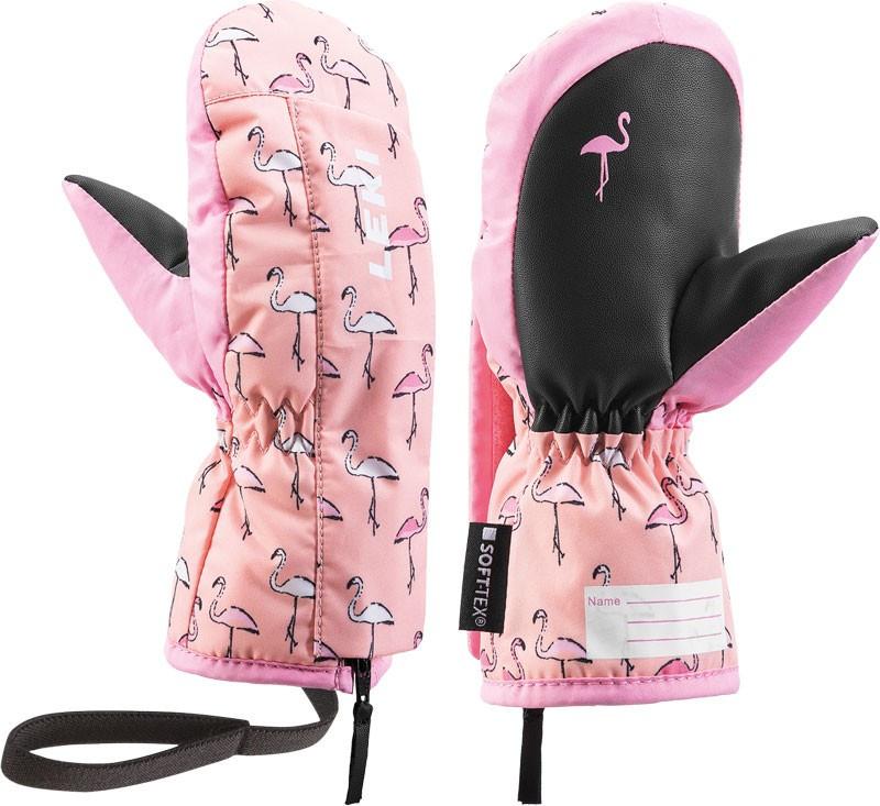 Leki Little Flamingo Zap Mitt