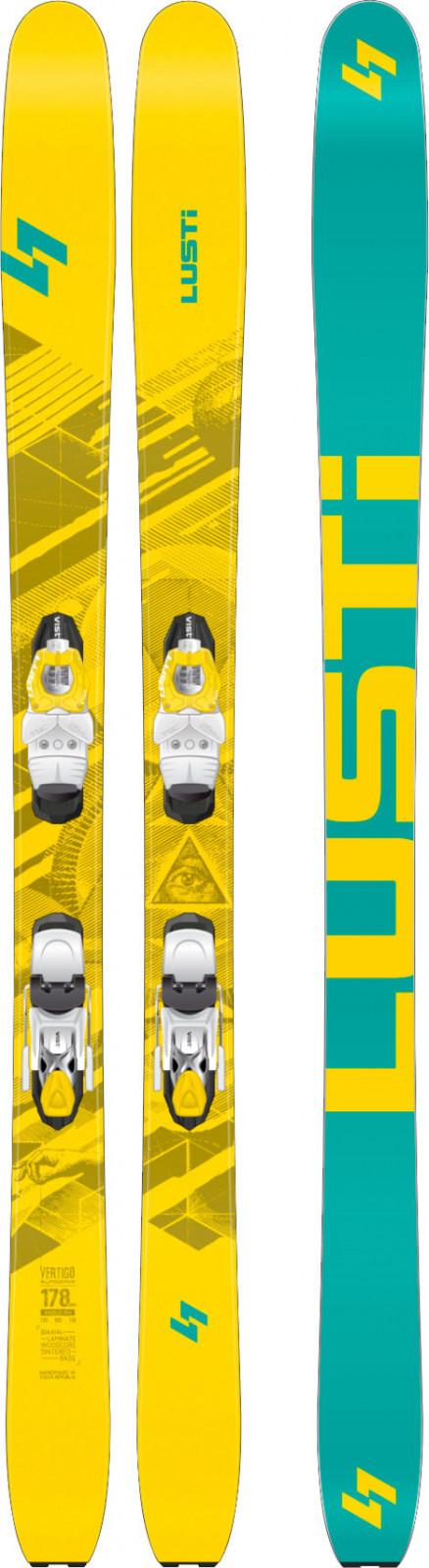 Lusti Vertigo + VIST VZP 412 + doska SPEEDSPACER