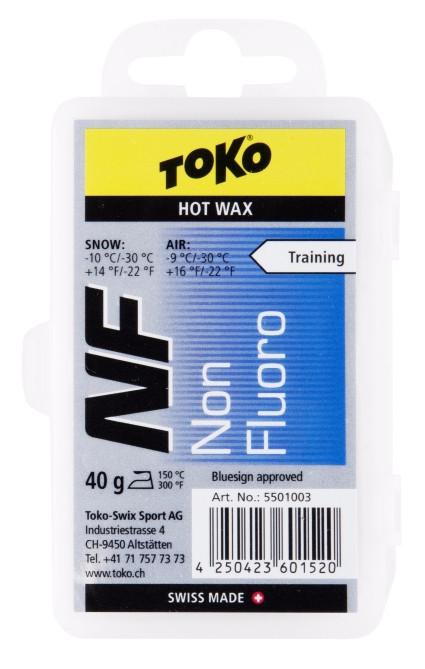 TOKO NF Hot Wax NEW modrý 40g
