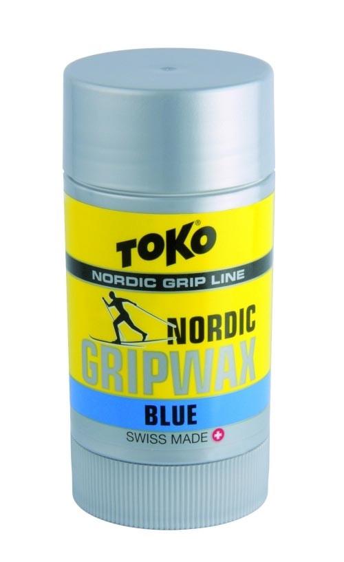 TOKO Nordic GripWax blue - 25g