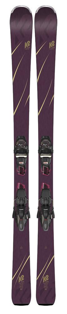 K2 Tough Luv + ERC 11 TCX Light QuikClik - testovacie lyže