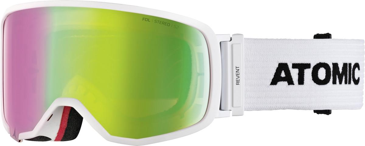 Atomic Revent S FDL Stereo - biela / zelená