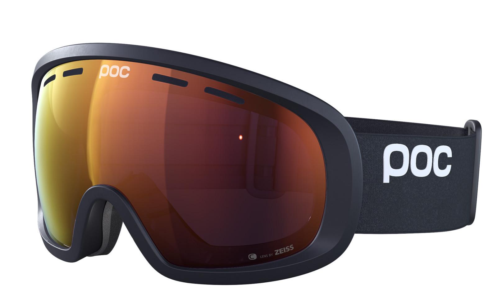 POC Fovea Mid Clarity - čierna