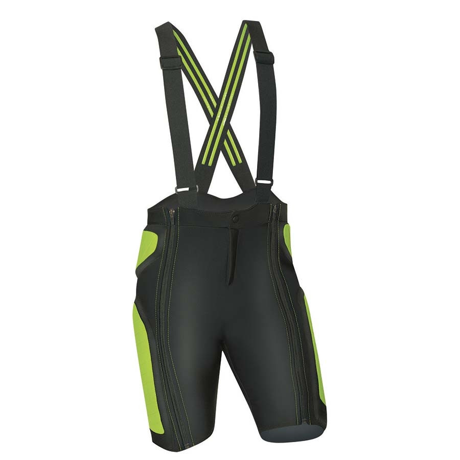 Komperdell Protector Race Crash Pant - čierna / zelená