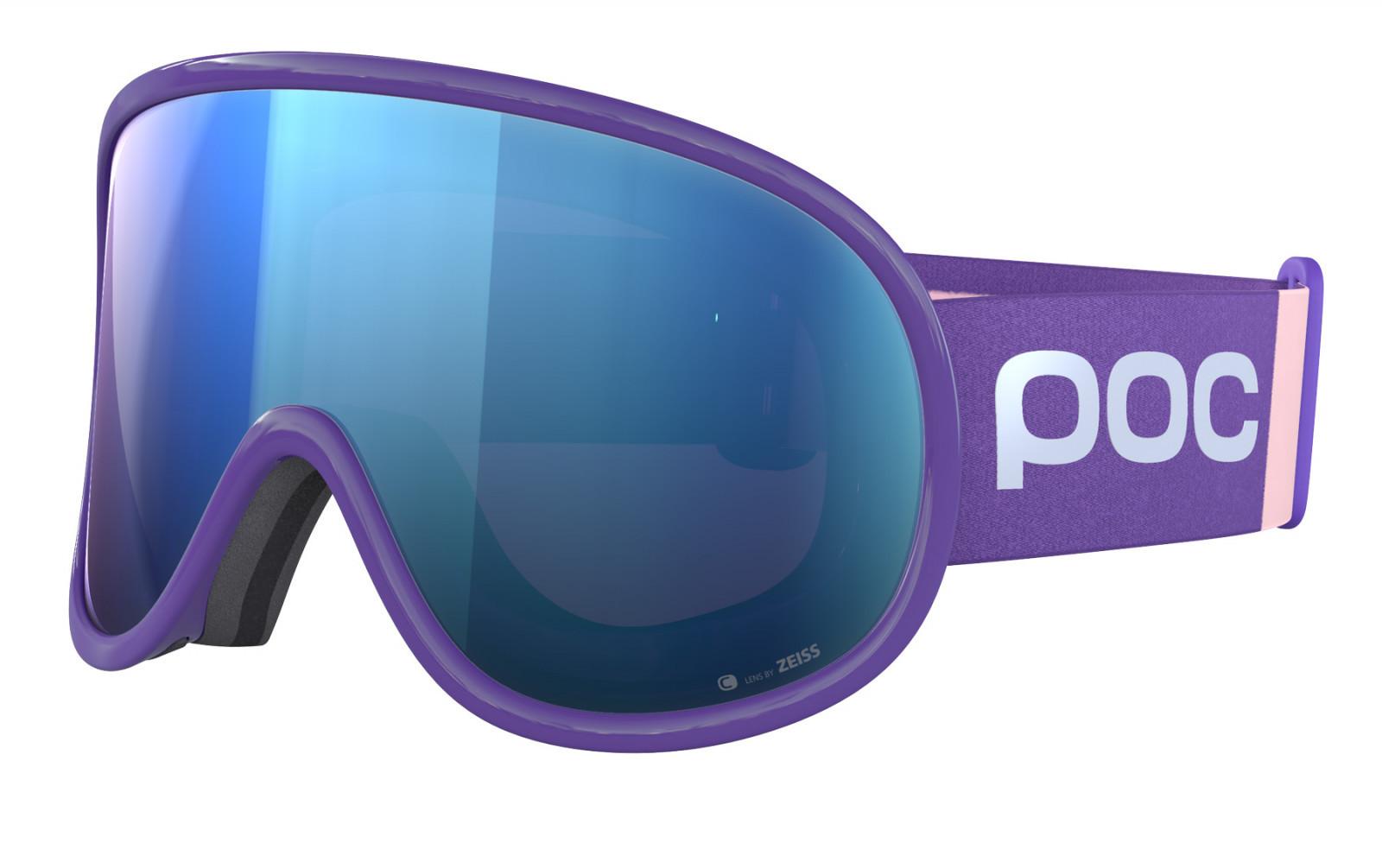 POC Retina Big Clarity Comp - fialová