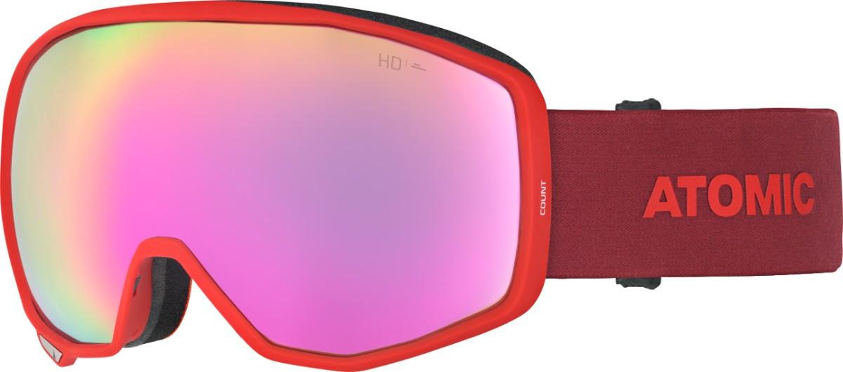 Atomic Count HD - červená / ružová