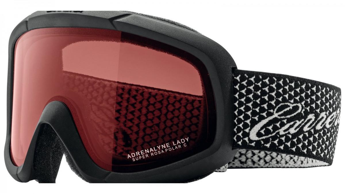 Carrera zjazdové okuliare Adrenalyn LADY Čierna / textúra
