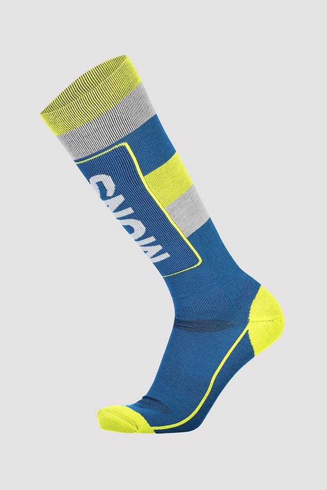 Mons Royale  mons Tech Cushion Sock - modrá