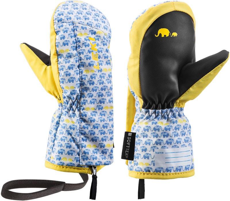 Leki Little Elephant Zap Mitt - modrá / žltá