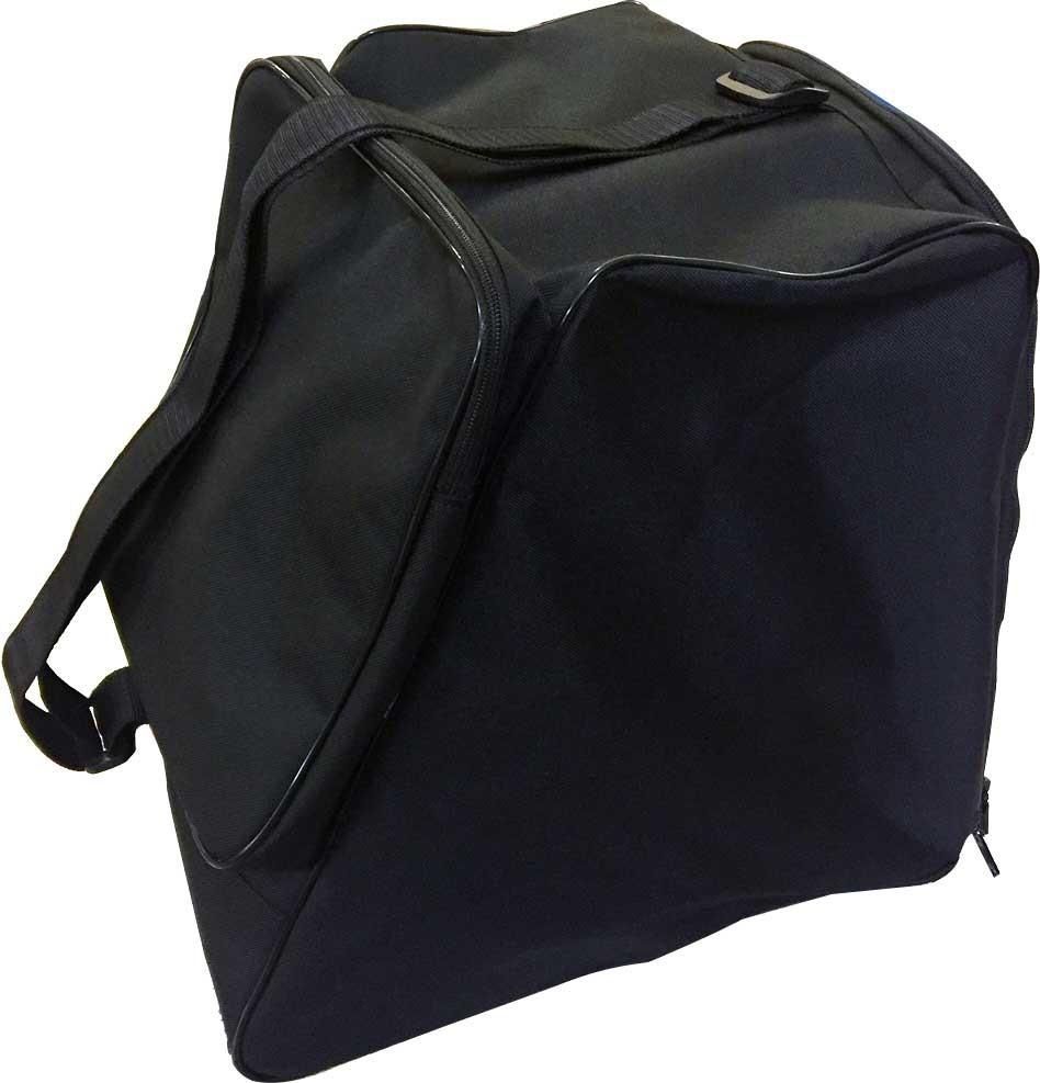O.K.Bag Taška na topánky s vreckom - čierna