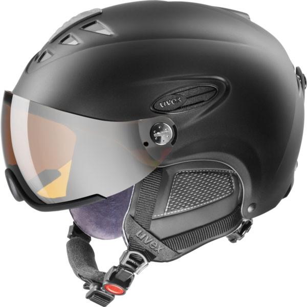 Uvex Hlmt 300 Visor - čierna