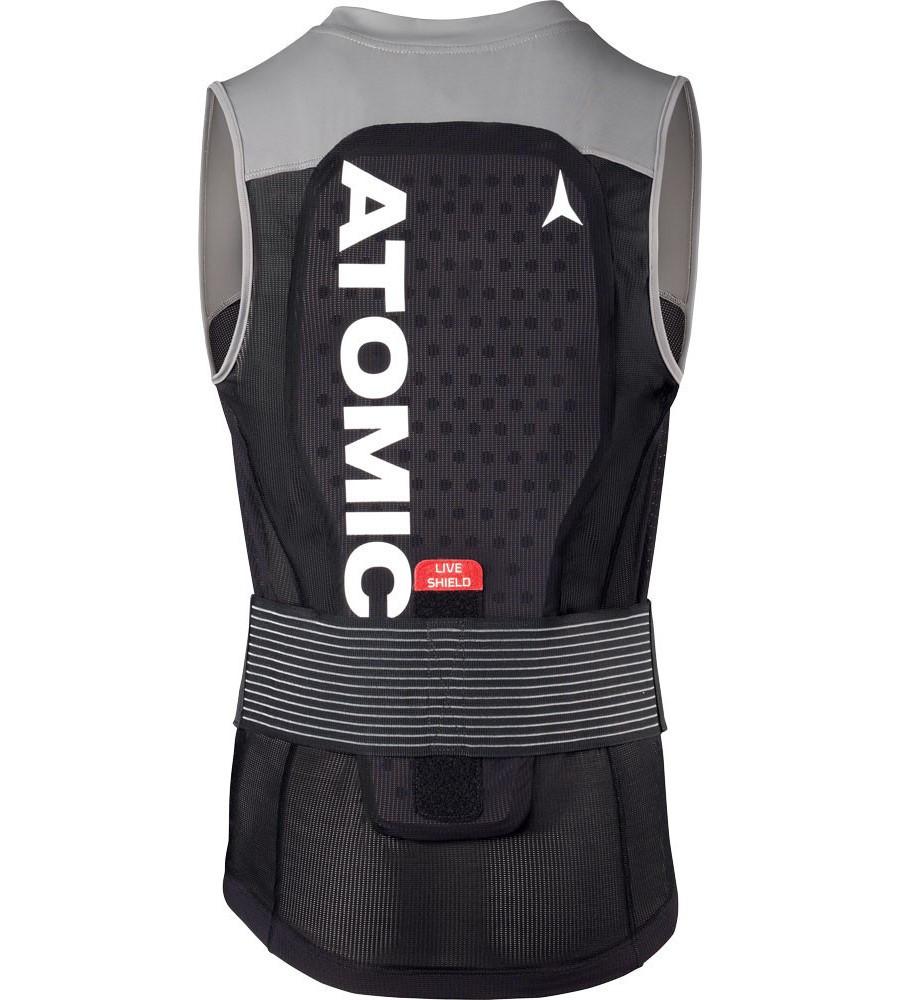 Atomic Live Shield Vest M - čierna / sivá