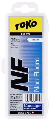 TOKO NF Hot Wax modrý 120g