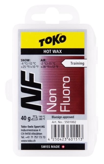 TOKO NF Hot Wax NEW červený 40g