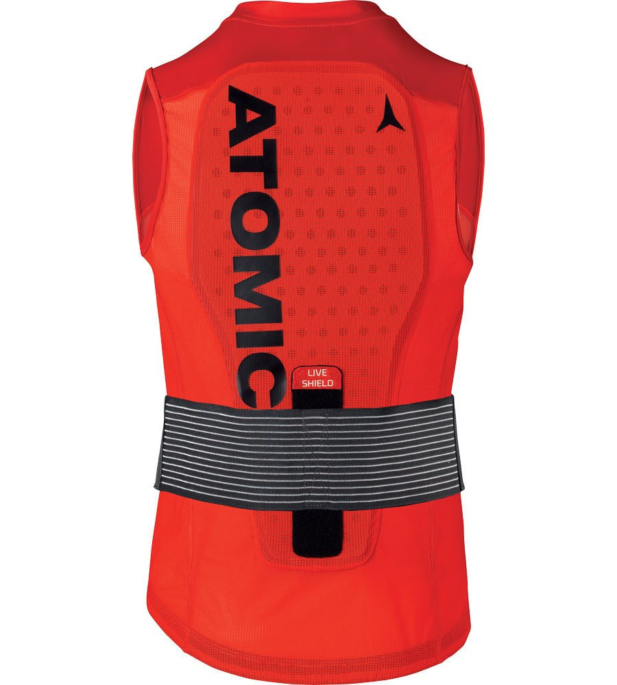 Atomic Live Shield Vest M - červená