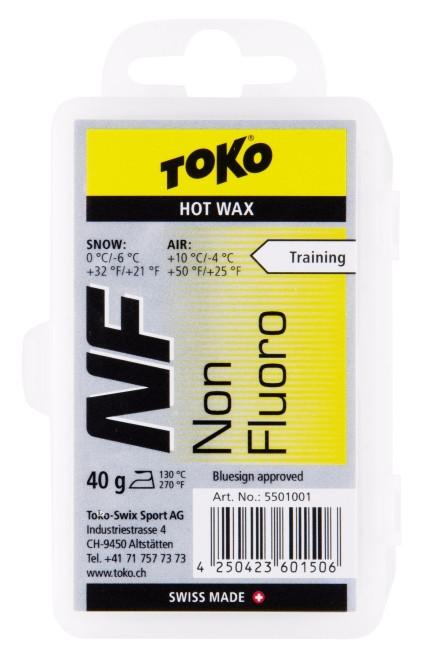 TOKO NF Hot Wax NEW žltý 40g