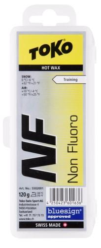 TOKO NF Hot Wax NEW žltý 120g