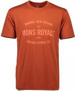 Mons Royale merino tričko ICON T-SHIRT clay