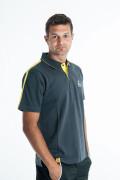 Fischer Tričko Melvin - sivá / žltá