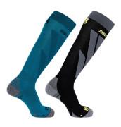 Salomon S / Access 2 Pack - modrá / čierna