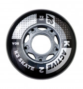 K2 Active Wheel 72mm 8ks + ložiská ILQ5