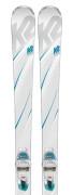 K2 True Luv + ER3 10 Compact QuikClik - testovacie lyže