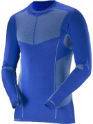 Salomon Primo Warm LS CN Tee M - modrá