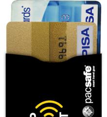 PacSafe peňaženka RFIDSleeve 25 (2 Pack) - black
