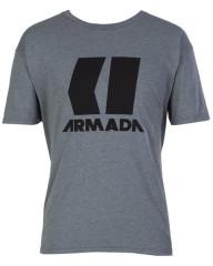 Armada Icon Tee - svetlo šedá