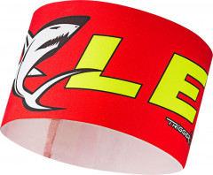 Leki Race Shark Head Band - červená