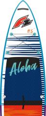 "Aloha 12'2 ""x33"" x6 ""- červená"