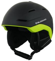 Blizzard Bormio Ski Helmet - čierna / žltá