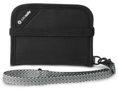 PacSafe RFIDSafe V50 Wallet - black