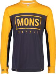 Mons Royale Redwood Enduro VLS - gold / 9 iron