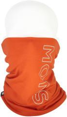 Mons Royale Double Up Neckwarmer - orange smash
