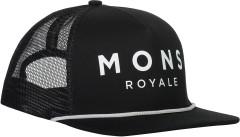 Mons Royale The ACL Trucker Cap - Black