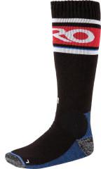 Nitro Anthem Socks - blk-wht-red-blue