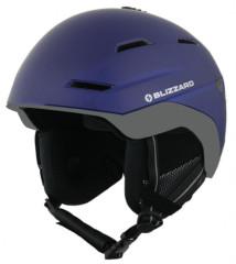 Blizzard Bormio Ski Helmet - modrá / šedá