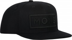 Mons Royale Wool Connor Cap - black