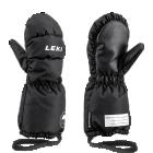 Leki Little Eskimo Mitt Long - čierna