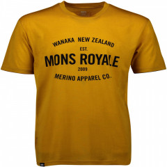 Mons Royale merino tričko Icon T-Shirt - oranžová