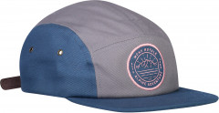 Mons Royale Beattie 5 Panel Cap - denim / grey